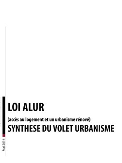 loi alur synthese urba epub