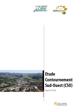 etude contournement SO epub